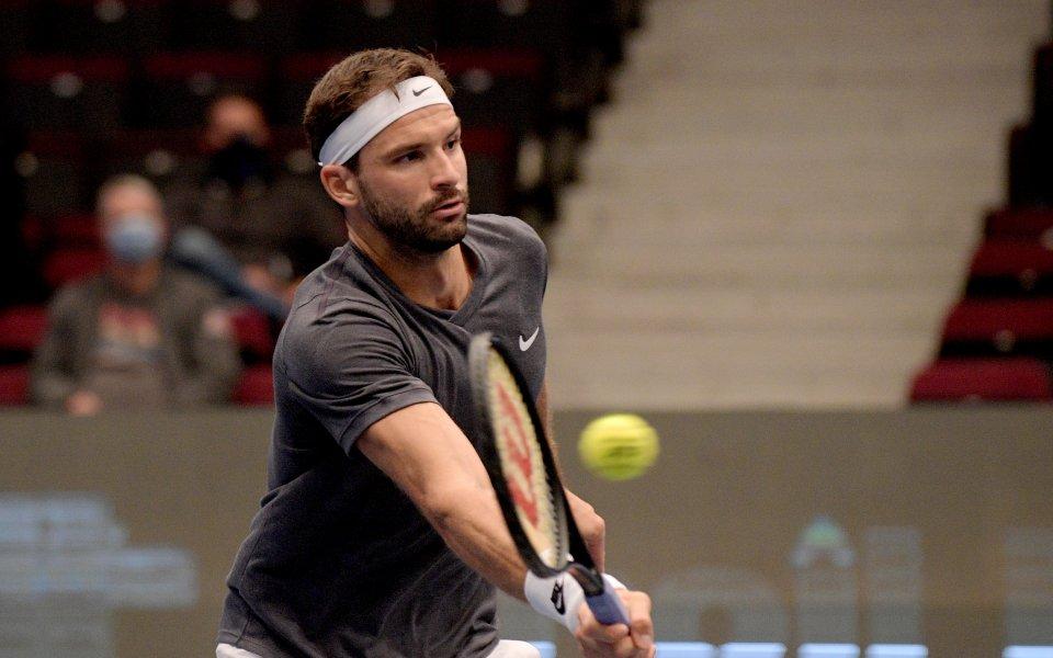 Най-добрият български тенисист Григор Димитров остана изключително доволен след победата