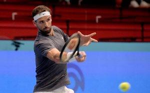 След гладиаторска битка Григор Димитров е аут от турнира във Виена