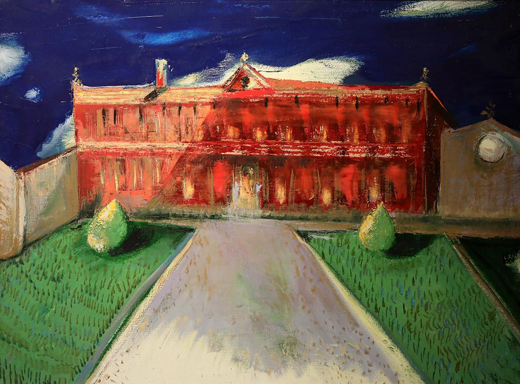 <p>Червената къща</p>