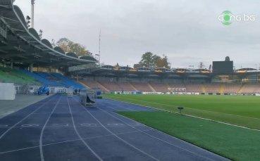 Това е стадионът-домакин на сблъсъка ЛАСК - Лудогорец