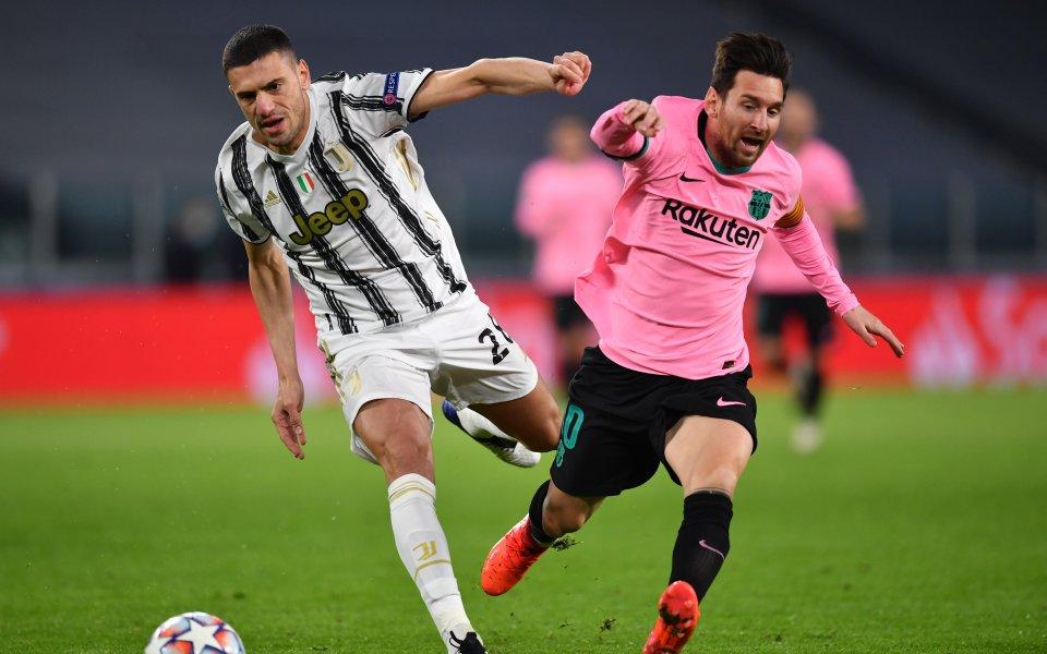 Ювентус и Барселона се изправят един срещу друг в един