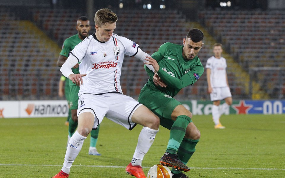 ЛАСК Линц води на българския шампион Лудогорец с 4:1 в