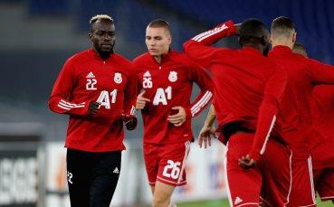 НА ЖИВО: Рома 0:0 ЦСКА, отменен гол в Рим