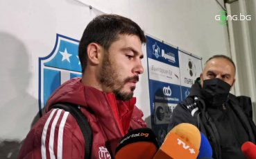 Галин Иванов: Радвам се, че спечелихме първа победа навън