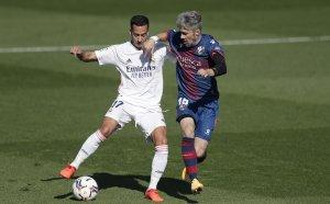 НА ЖИВО: Реал Мадрид - Уеска, срещата стартира, Азар е титуляр