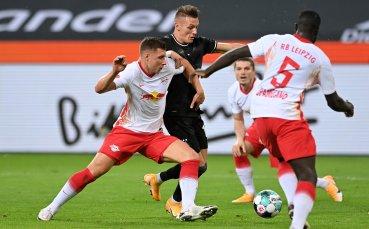 Борусия Мьонхенгладбах нанесе първо поражение на РБ Лайпциг
