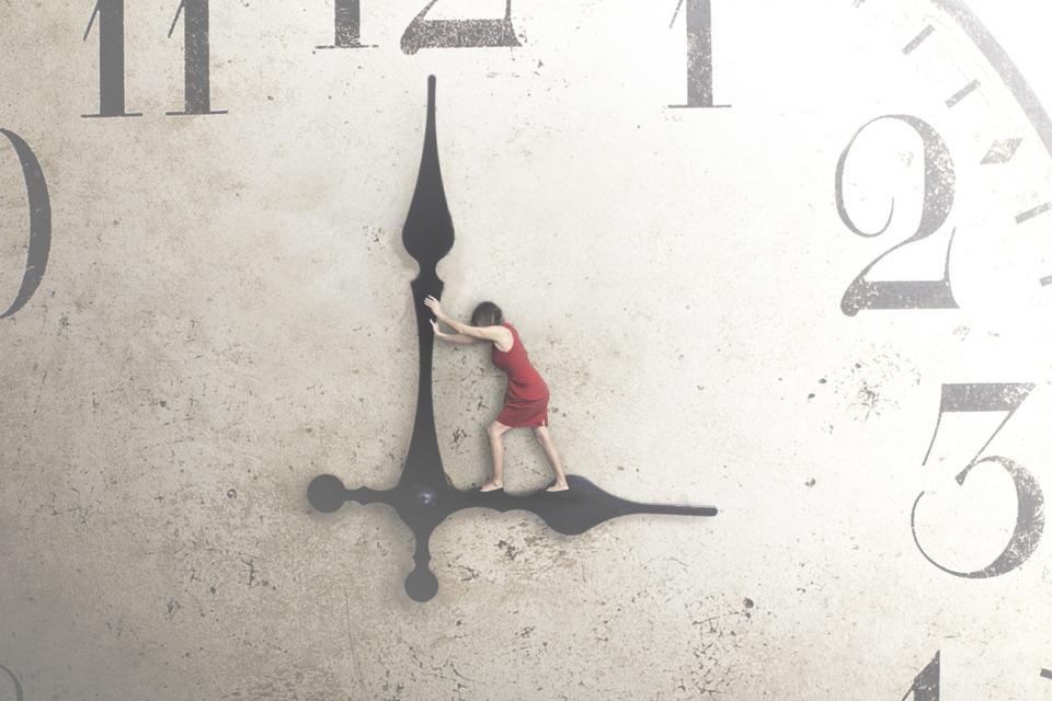 часовник време жена