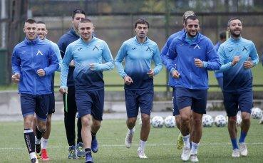 Левски тренира, но следа от нов треньор няма