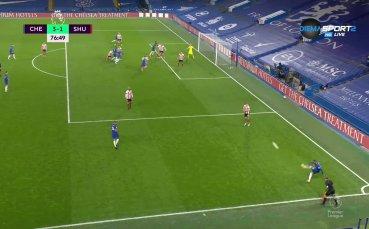 Челси заби трети гол във вратата на Шефилд