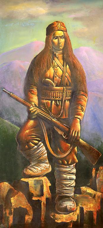 <p>Сирма Войвода, 1979 г, маслени бои, платно</p>