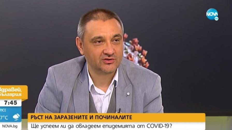 Какво е състоянието на проф. Чорбанов
