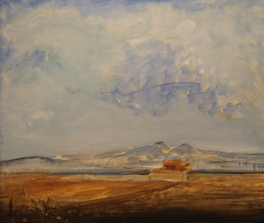 <p>Петко Чурчулиев е първият художник в Димитровград, около когото се оформя професионален кръг на творци от града.</p>