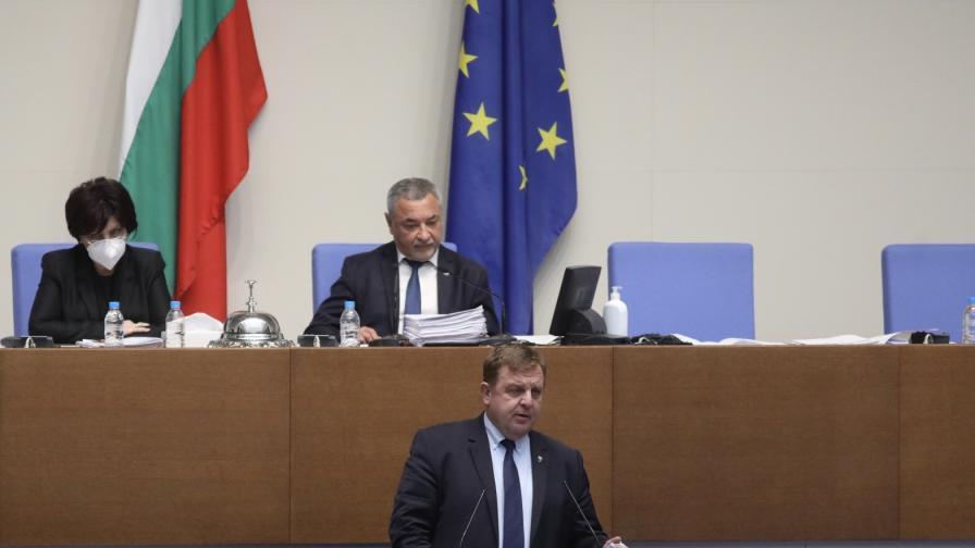 Каракачанов обяви има ли постигнато решение със Скопие