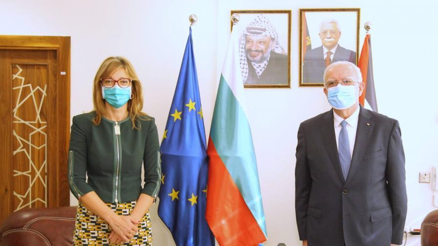 България и Палестина ще си сътрудничат в образованието и икономиката