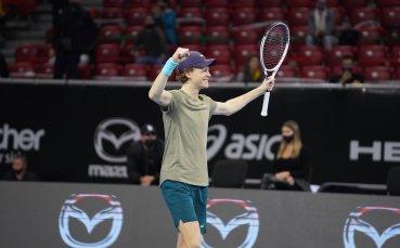 Италианският суперталант Синер е новият шампион на Sofia Open!