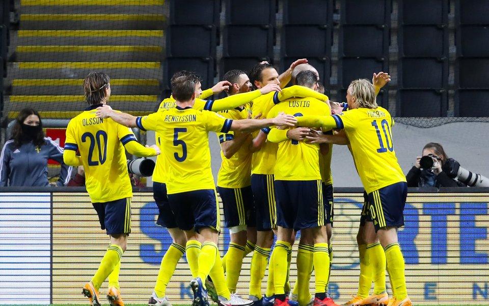 Отборът на Швеция записа убедителна победа с 3:0 при гостуването