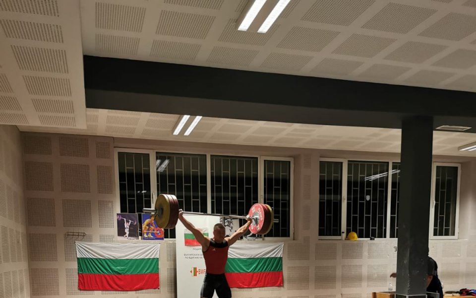 България със злато на онлайн Световната купа по щанги
