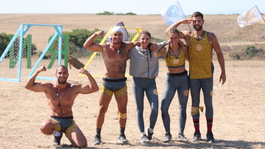 <p>Жътварите се измъкват от Дивата река в &bdquo;Игри на волята: България&ldquo;</p>