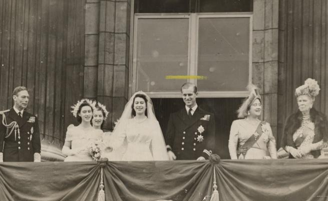 Сватбата на кралица Елизабет II (тогава само принцеса Елизабет) и принц Филип