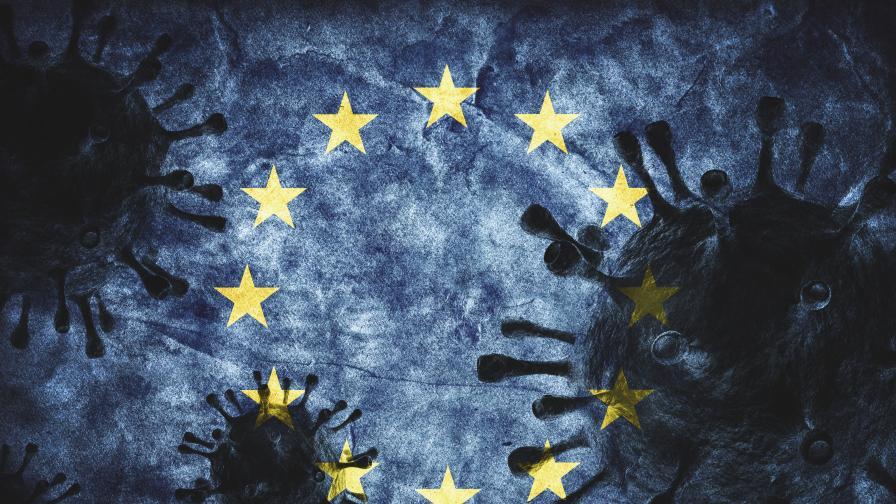 <p>Европа под заплаха от трета вълна на COVID-19 в началото на 2021 г.</p>