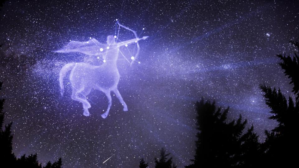 Стрелец зодия знак зодии астрология небе