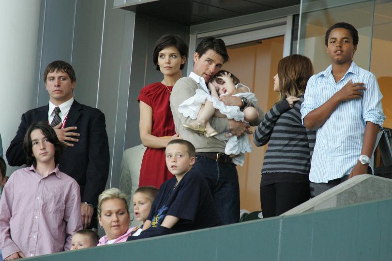 Том Круз и неговата дъщеря Сури