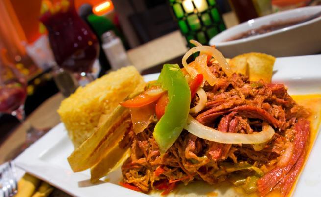 Националното ястие на Куба - Ропа Виеха