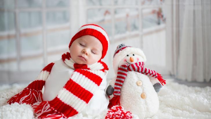 8 любопитни факта за бебетата, родени през декември