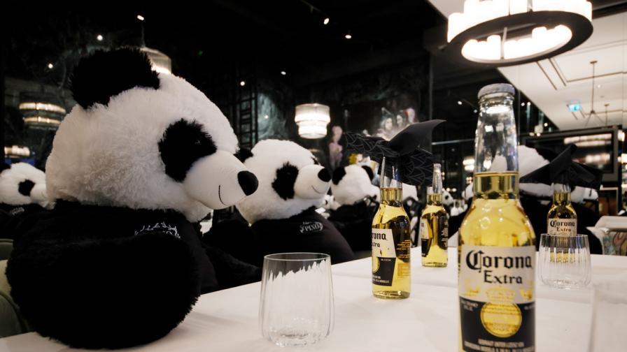 Панди в ресторант
