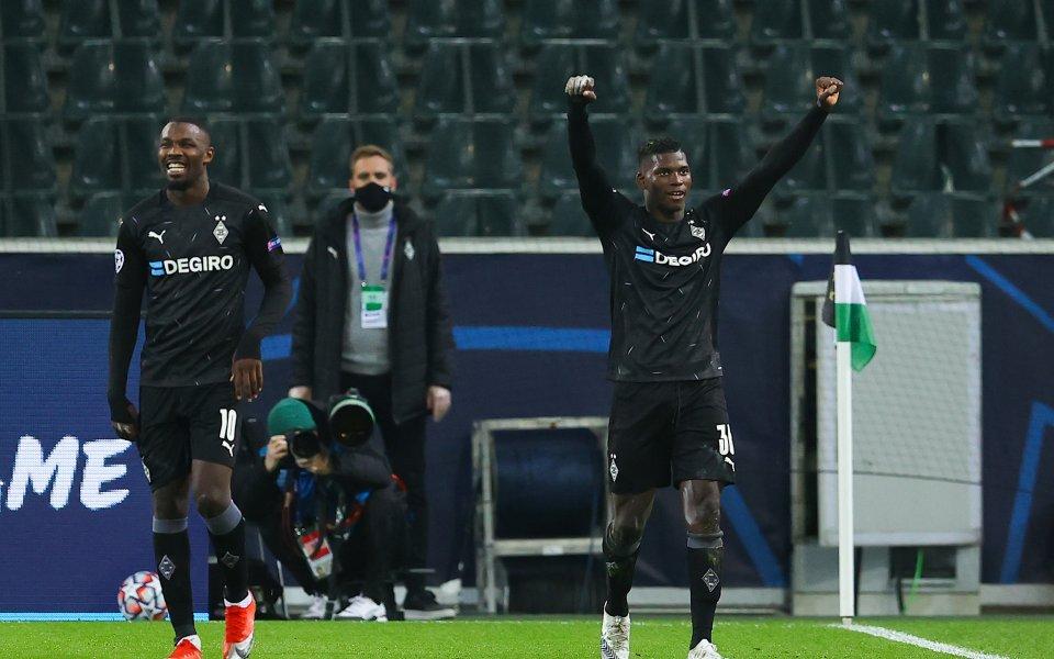 Отборът наБорусия Мьонхенгладбах разгроми Шахтьор Донецк с 4:0 в двубой