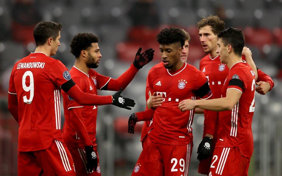Европейският шампион Байерн Мюнхен се класира за елиминационната фаза на