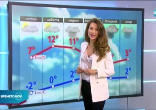 Прогноза за времето (27.11.2020 - обедна емисия)