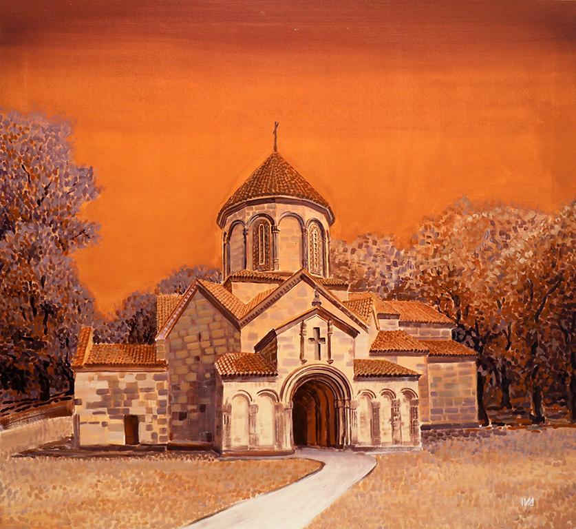 <p>Иванна Шмелева, &bdquo;Грузия, Катедрала в Манглиси&rdquo;</p>