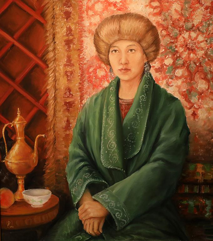 <p>Роман Гуманюк, &bdquo;Алайска царица Курманджан Датка, Киргизия&rdquo;</p>