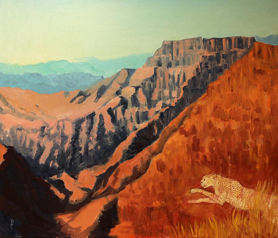 <p>Роман Гуманюк, &bdquo;Драковите планини и бял гепард, Южна Африка&rdquo;</p>