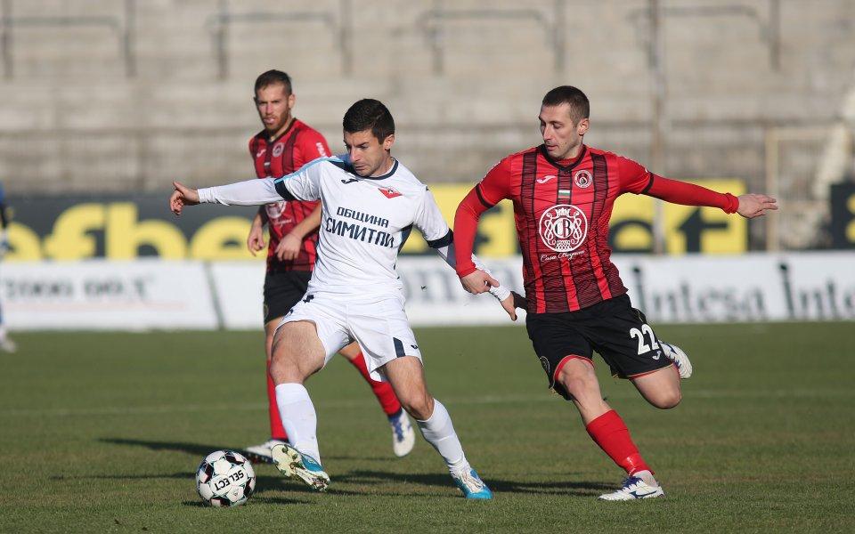 Септември Симитли приема Локомотив Сф в мач от 32-ия кръг