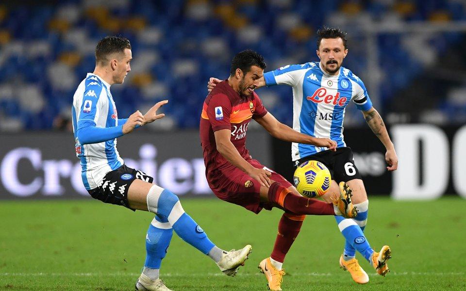 Наполи победи Рома с 4:0 и ги свали от 4-ото