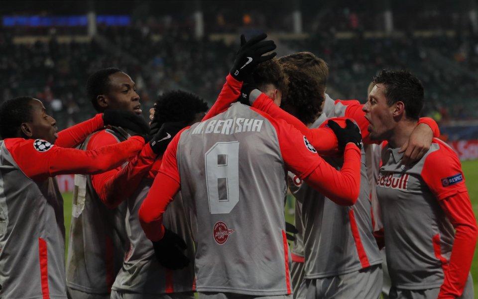 Австрийският Ред Бул Залцбург постигна ценна победа над Локомотив Москва
