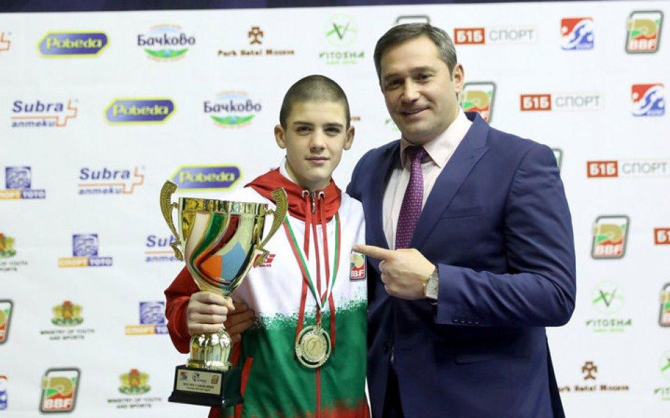 България спечели първи златен медал от Европейското за юноши и