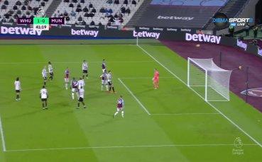 Уест Хем - Манчестър Юнайтед 1:3