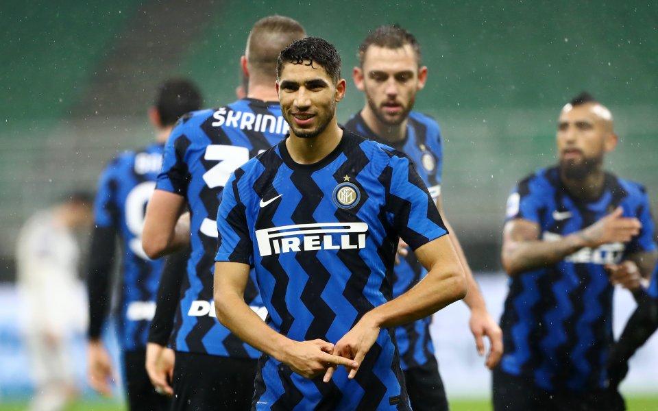 Отборът на Интер записа трета поредна победа в шампионата на