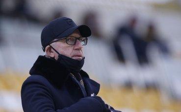 Шеф на ЦСКА се завръща за контролата със Струмска слава
