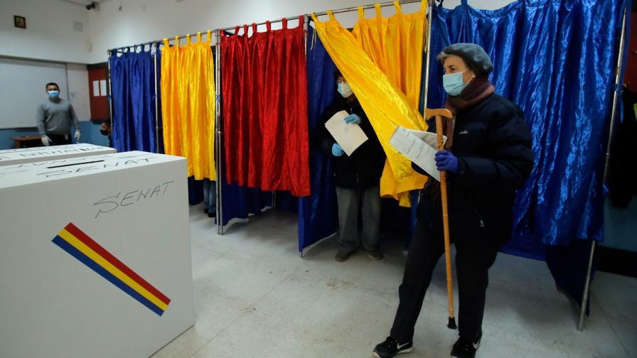 <p>Опозицията в Румъния печели изборите</p>