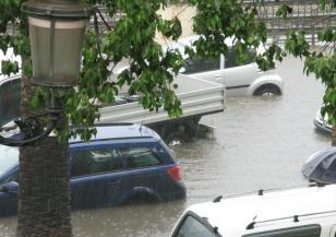 Мощна буря във Франция