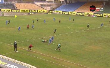 Спортист с нов бърз гол за 2:0 срещу Нефтохимик
