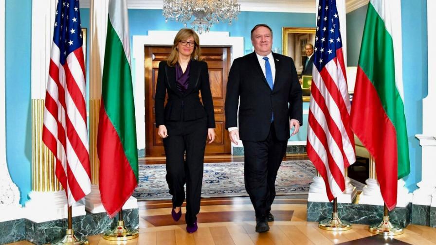 """България приветства присъединяването на САЩ в инициативата """"Три морета"""""""