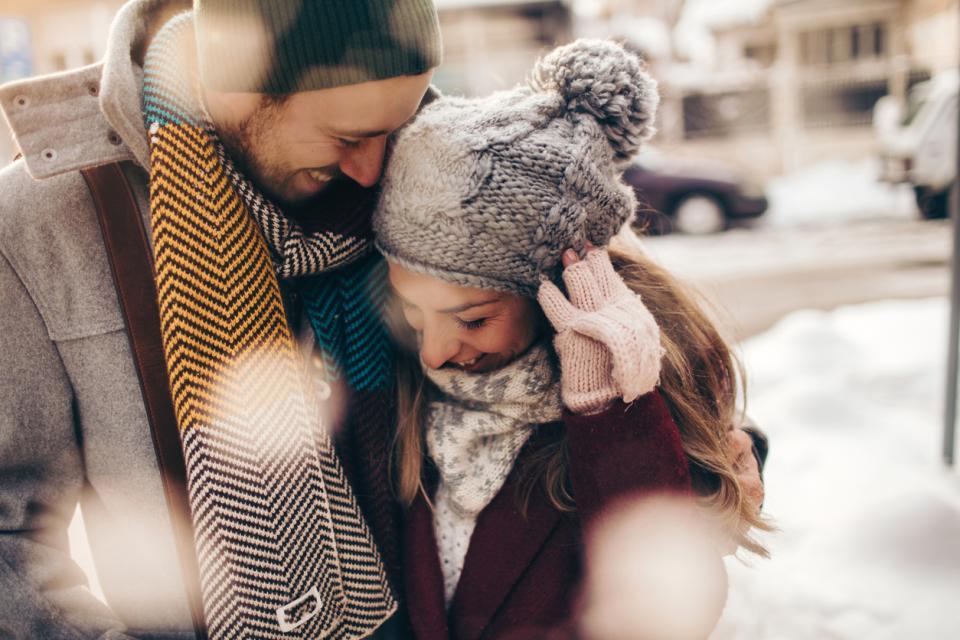 зима двойка любов