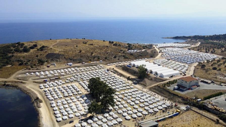"Бежански лагер ""Мория"""