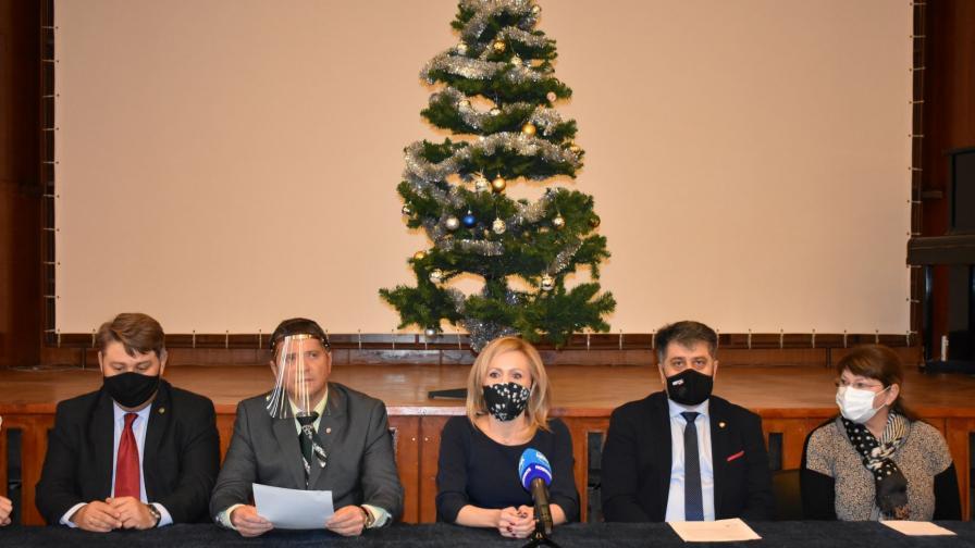 Прокурори и следователи дариха два апарата за плазмафереза