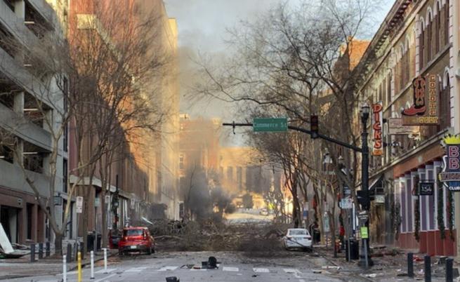 Взрив избухна в центъра на Нашвил, ранени